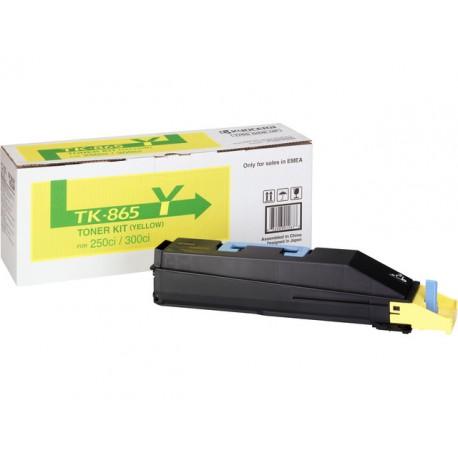 Toner Kyocera TK-865 geel