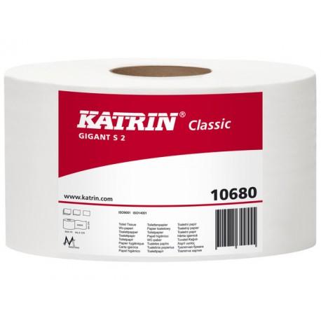 Toiletpapier Katrin 2l wit/pk 12rlx160m