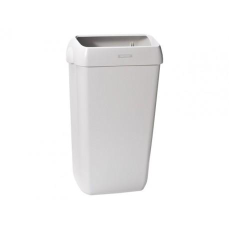 Afvalbak Katrin h55xb33xd23cm l-grijs/2