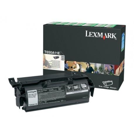 Toner Lexmark T65x 7K ret.prog. zwart
