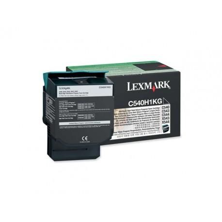 Toner Lexmark C540H1KG C540 Ret. zwart