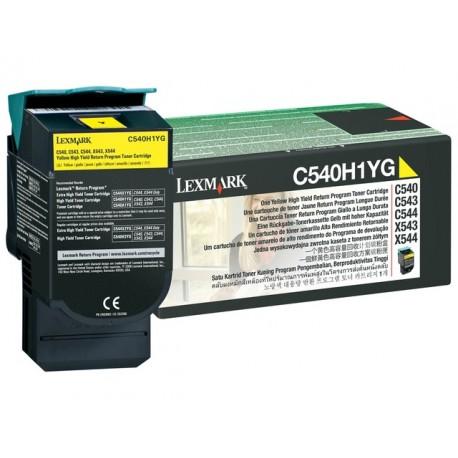 Toner Lexmark C540H1YG C540 Ret. geel