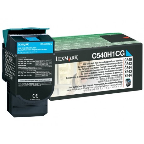 Toner Lexmark C540H1CG C540 Ret. cyan