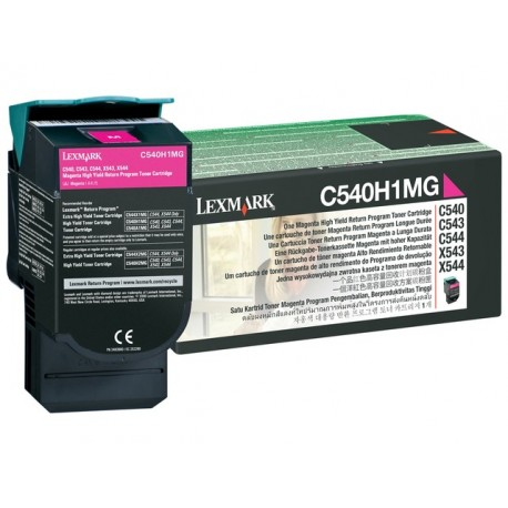Toner Lexmark C540H1MG C540 Ret. magent