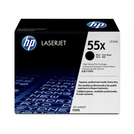 Toner HP CE255X 12,5K zwart
