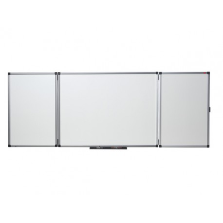 Whiteboard triptiek nobo emaille 150x120