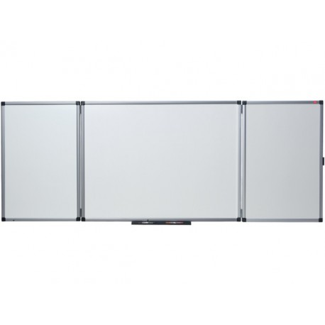Whiteboard triptiek nobo emaille 120x90