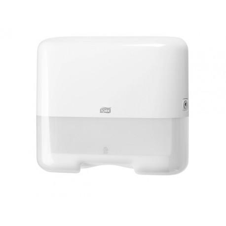 Handdoekdispenser Tork Mini ZZ-fold wit