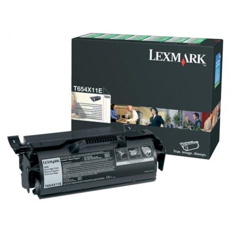 Toner Lexmark T654 T654X11E 36K zwart