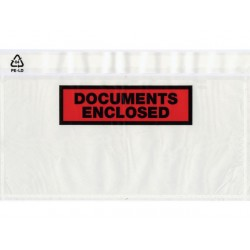 Paklijstenvelop DL doc. encl. /ds 250