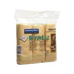 Schoonmaakdoek Wypall microvezel gl/pk 6