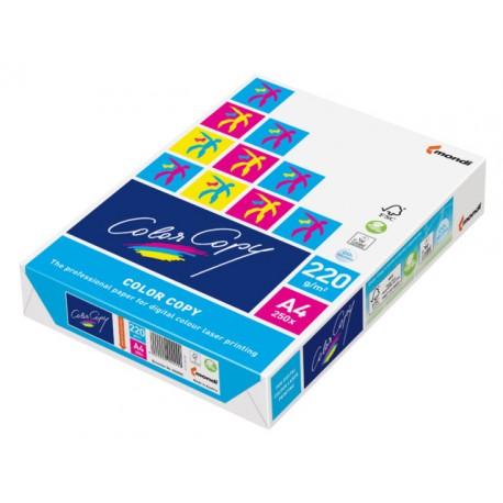 Papier ColorCopy A4 220g/pak 250v