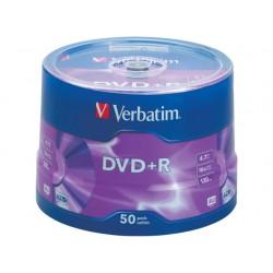 DVD+R Verbatim spindle/pak 50