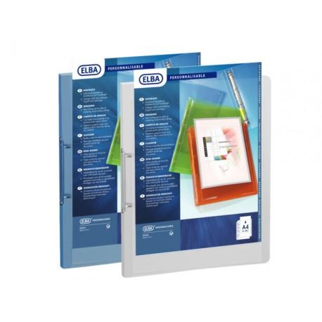 Presentatieringband ELBA Polyvis.2D20 bl