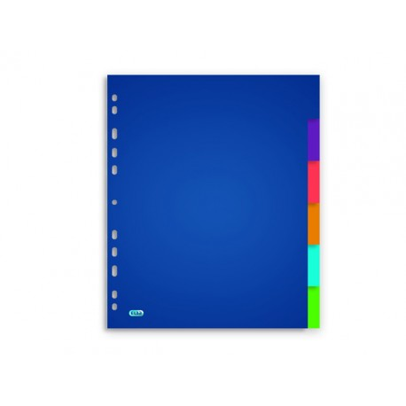 Tabblad ELBA A4XL 11R PP tr.kleur/set 6