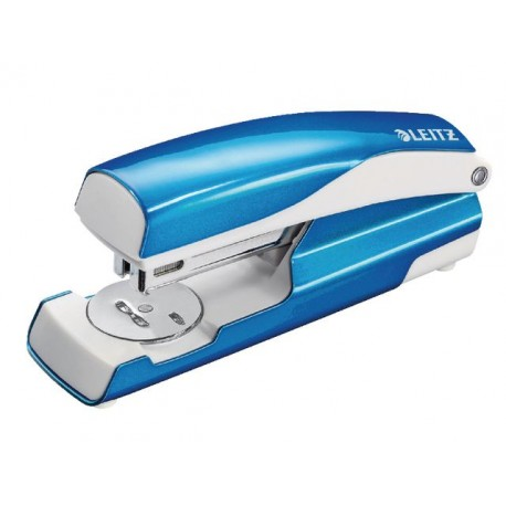 Nietmachine Leitz WOW 5502 blauw metall.