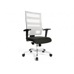 Bureaustoel X-pander zwart/wit