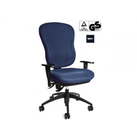 Bureaustoel Wellpoint blauw