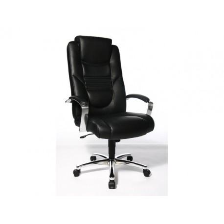 Managerstoel Shine zwart