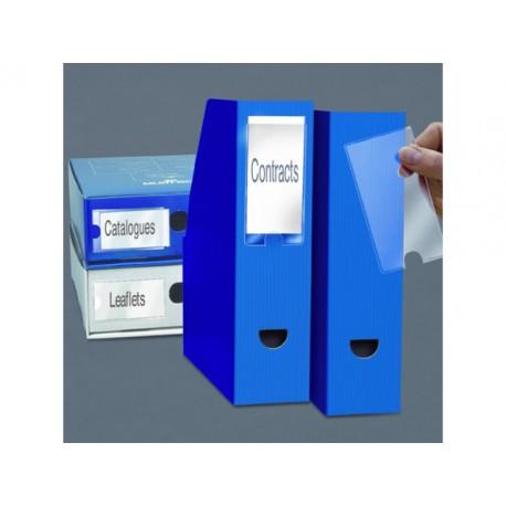 Etikethouder 3L 75x150mm zk/pak 3