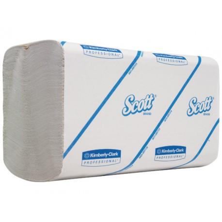 Handdoek Scott 1L 21,5x21cm wit/15x300
