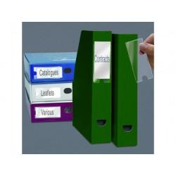 Etikethouder 3L 46x75mm zk/pak 6