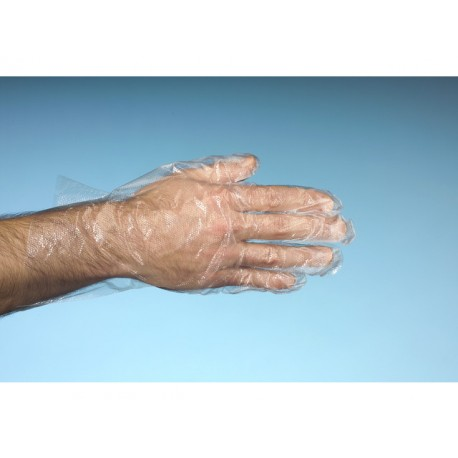 Wegwerphandschoen polyethyleen L/pak 500
