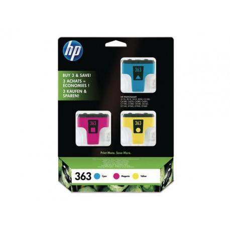 Inkjet HP CB333EE Cyan-magenta-geel