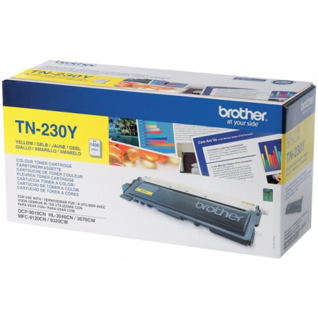 Toner Brother TN-230Y geel