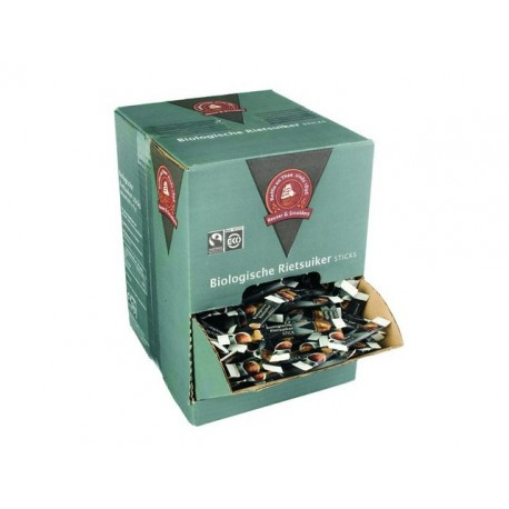 Rietsuiker Fairtrade sticks ds 600x4gr