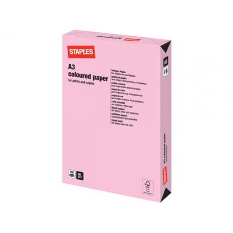 Papier SPLS A3 80g flamingo/pak 500v