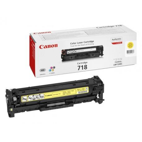 Toner Canon 718-Y 2,9K geel