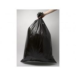 Afvalzak 45x50cm Ldpe T25 zwart/ds40rx25