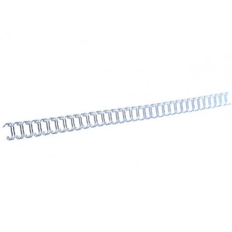Draadrug 8mm 34 rings zilver/ds100