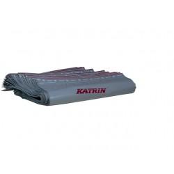 Afvalzak Katrin 26x27,5cm ldpe grijs/r50