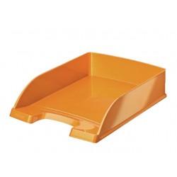 Brievenbak Leitz PlusWOW oranje metallic