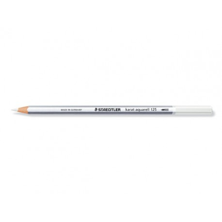 Kleurpotlood Karat Aquarel 2mm wit/ds 6
