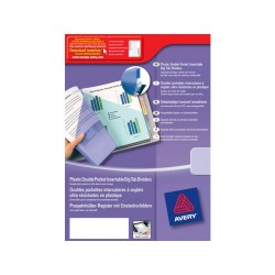 Tabblad Avery A4XL tab PP 0,18/set 12