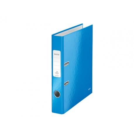 Ordner Leitz WOW 50mm A4 karton blauw