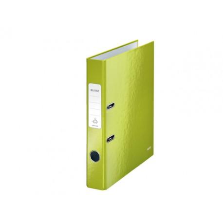Ordner Leitz WOW 50mm A4 karton groen