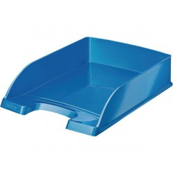 Brievenbak Leitz Plus WOW blauw metallic