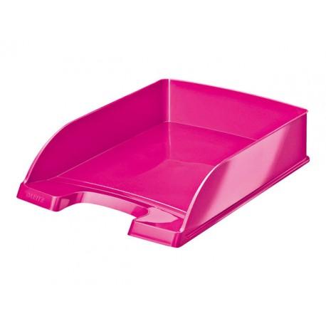 Brievenbak Leitz Plus WOW roze metallic