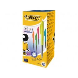 Balpen BIC M10 M assorti/doos 50