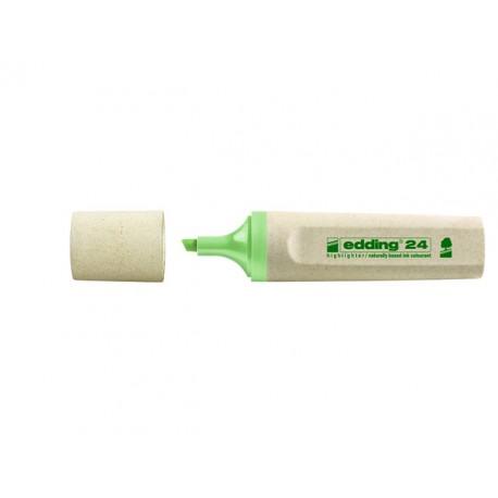 Tekstmarker edding 24 eco 2-5 mm gr/ds10