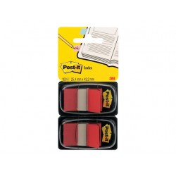 Index Post-It 50 tabs rood/pak 2