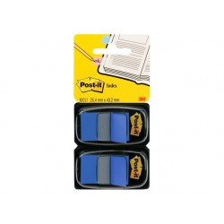 Index Post-It 50 tabs blauw/pak 2
