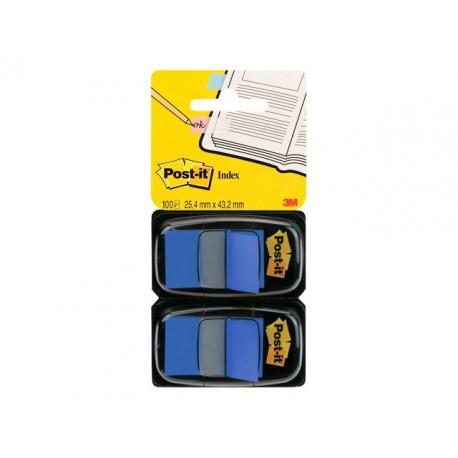 Index Post-It 50 tabs blauw/pak 2