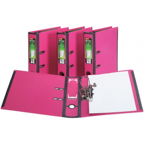Ordner Better Binder A4-maxi 75mm roze
