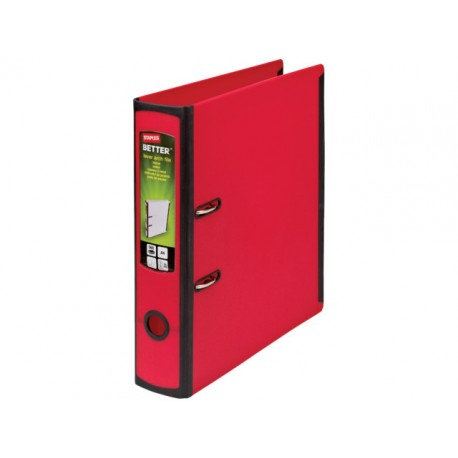 Ordner Better Binder A4-maxi 75mm rood