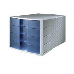 Ladenblok HAN Impuls 4 laden tr/blauw